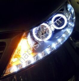 Фары CCFL  LED Angel Eye Type для Sportage R SL